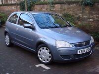 EXCELLENT CAR! 2004 VAUXHALL CORSA 1.2 i 16v DESIGN 5dr (a/c), 1 YEAR MOT, WARRANTY