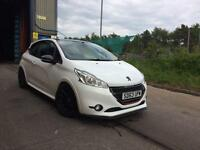 Modified 2013 peugeot 208 gti 1.6 turbo