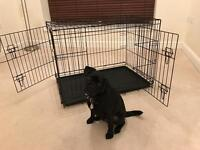 Collapsible Dog Cage - dog not included ;)