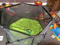 The Pop n Play Portable Playpen