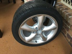 Mercedes C-Series Sedan Spare Wheel Cleveland Redland Area Preview
