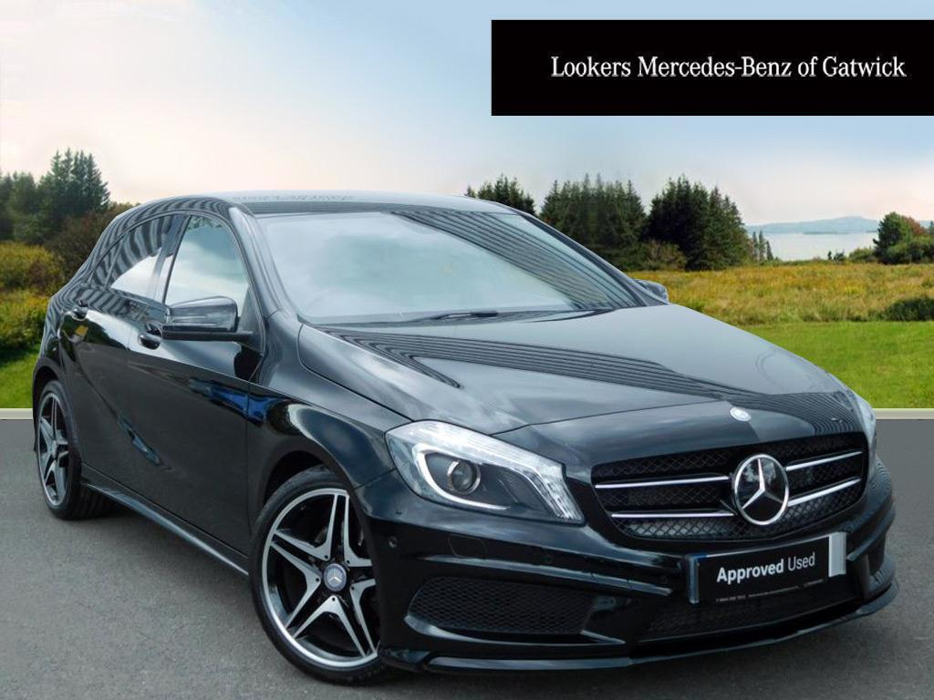 mercedes benz a class a180 cdi blueefficiency amg sport black 2013 04 30 in crawley west. Black Bedroom Furniture Sets. Home Design Ideas