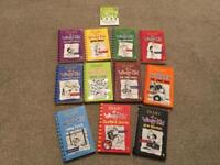 11 book bundle Diary of a Wimpy Kid