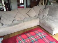Corner sofa from Next