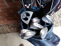 Golf Set for ladies , Quality RAM made , excellent condition , hardley used , with carrier bag
