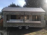 #REDUCED NO OFFERS Burger van contact me for deal need sold asp
