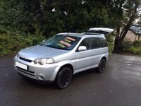 HONDA HR-V 4WD 5 DR/ VERY HI SPEC/S/HISTORY/ALLOYS/BRAND NEW MOT&CAMBELT/ EASY TO DRIVE/VITARA ...