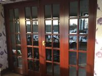 Internal mahogany doors