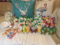 Huge Bundle Baby Food Pouches Annabel Karmel, Babease etc