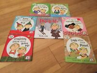 Charlie & Lola Hardback books - seven sold as a set.