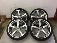 4 Tyres and Alloys for BMW 245/35/20 275/30/20