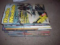 OLD AEROMODEL MAGAZINES 32 COPIES DATED 1980s 32 copies