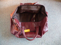 Large Ashwood Travel/Weekend Bag - Leather Holdall