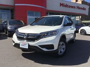 2016 Honda CR-V LX - Only 13,000kms / Heated Front Seats / Back