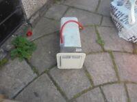 caravan carver water heater