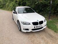 BMW 318I WHITE COUPE I DRIVE WIDE SCREEN