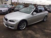 BMW 320d M SPORT AUTO CONVERTIBLE - FINANCE AVAILABLE