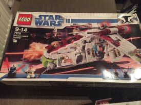 Lego Star Wars Republic Attach Gunship