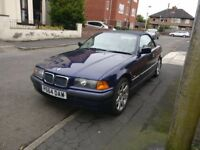 BMW E36 convertible cheap car look