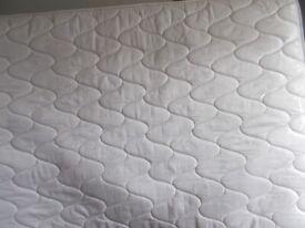 Silentnight Miracoil double mattress as new
