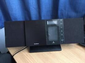 Sandstrøm slim Hi-Fi system