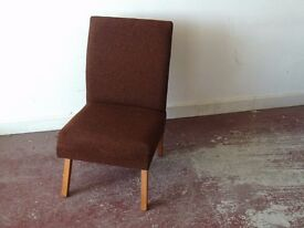 SEVENTIES STYLE BEDROOM CHAIR