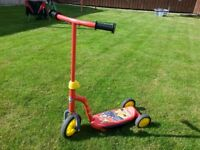 Fireman Sam Tri Scooter