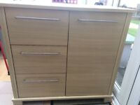 Mamas and papas 2 piece combination wardrobe and drawers, excellent condition