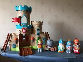 Early Learning Centre Play Castle with characters, excellent condition