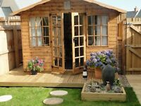 Toby's Sheds 10' x 8' summerhouse, 1 yr old