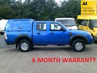 Ford Ranger 2.5 TDCI 143 XL 4WD***DIRECT FROM LEASE CO**F/S/H***MOT JULY 2019***ONLY 75000 MILES***