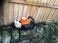 Stihl hs81r petrol hedge cutters trimmers
