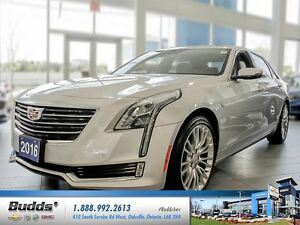 2016 Cadillac CT6 3.6L Luxury GM CANADA COMPANY VEHICLE