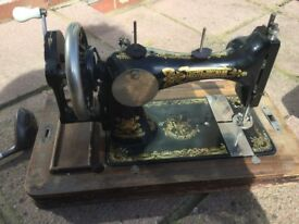 Frister and Rossmann Old sewing machine