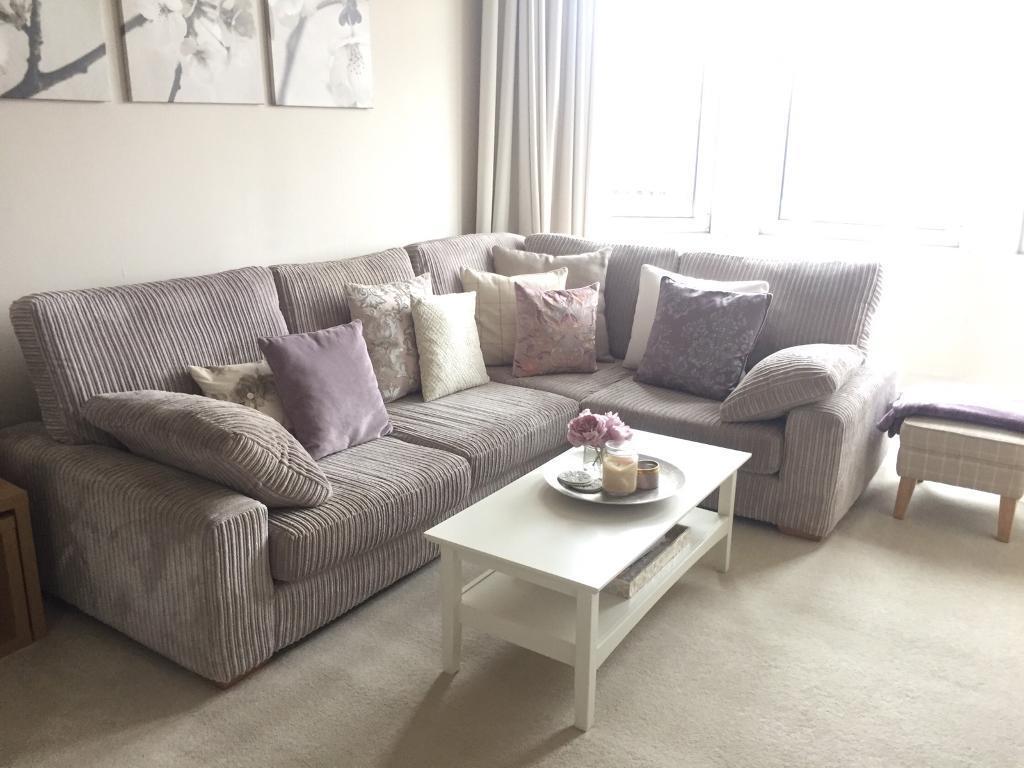 Eitelkeit Sofa In L Form Galerie Von Shaped Corner Jumbo Cord
