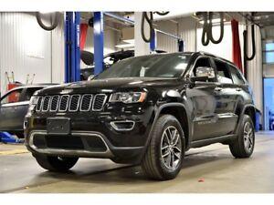 2017 Jeep Grand Cherokee LIMITED * 4X4 * CUIR * CAMERA * BANCS C