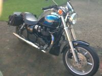 Very low mileage 2005 Speedmaster. Much sort after carb model.