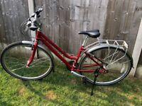 Ladies Ridgeback Meteor Hybrid bicycle 2016