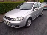 PRICE DROPPED..... ..1 YEARS MOT.......60000 MILES.....2008 CHEVROLET LACETTI 1.6 HATCHBACK