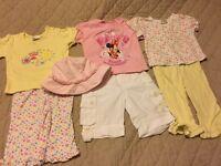 Girl's Clothes Bundle Size 6-9 Months