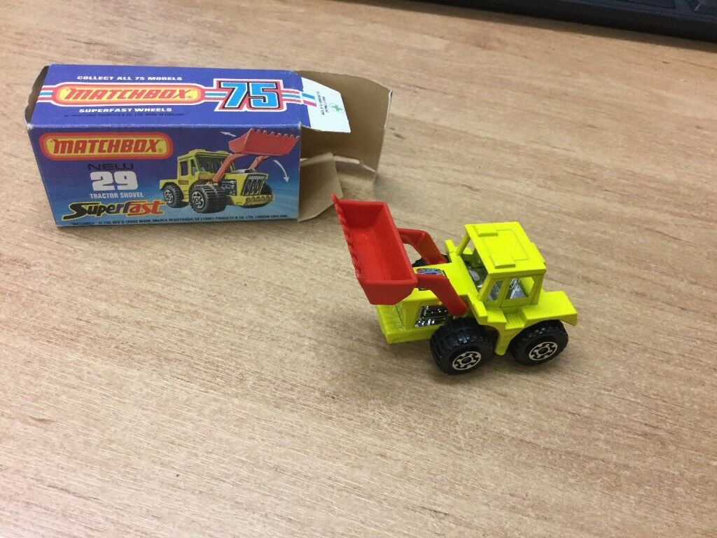 Matchbox 75 series Tractor Shovel