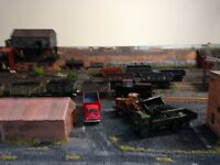 DCC model railway layout OO gauge