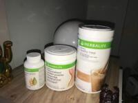 Herbalife products inc F1 cappuccino & F3 protein powder