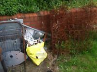 Scrap metal free from Tupton more scrap on the backyard will put on front