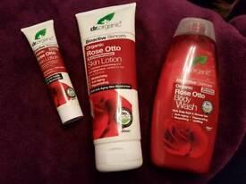 Dr Organics Rose skincare