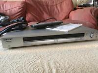 Sony Slimline CD/DVD DVP-NS330 with Remote, Scart Cable and instruction booklet