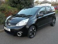 Nissan Note 1.6 N-Tec+ 5dr Auto (black) 2013