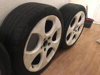 "GENUINE bbs Monza II alloys 18"", vw, Audi, seat, soda"