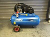 ABAC 2 HP 100LTR COMPRESSOR 415V(3PHASE