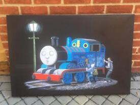 Thomas Tank Engine canvas wall picture